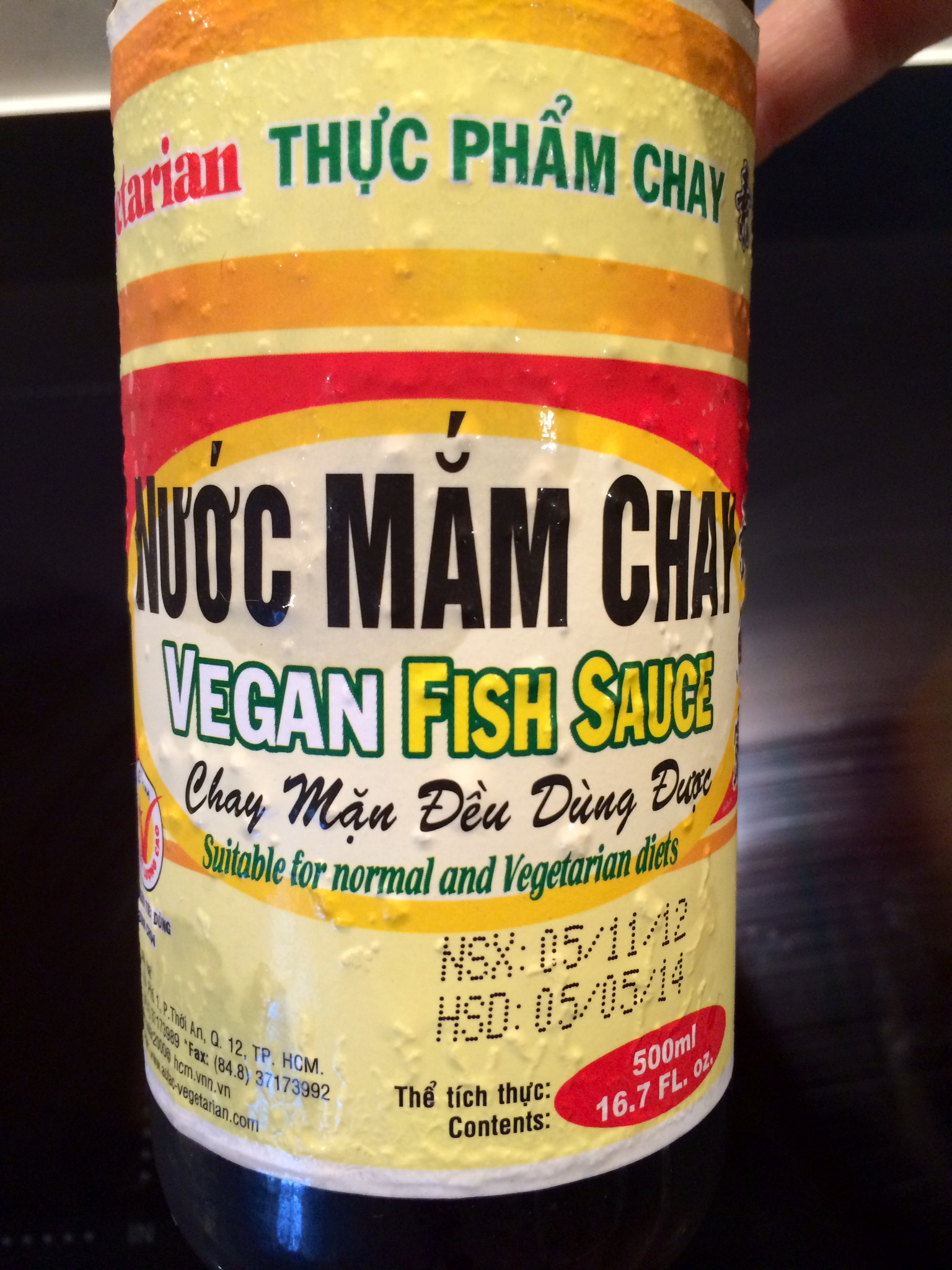 Au Lac Vegan Fish Sauce