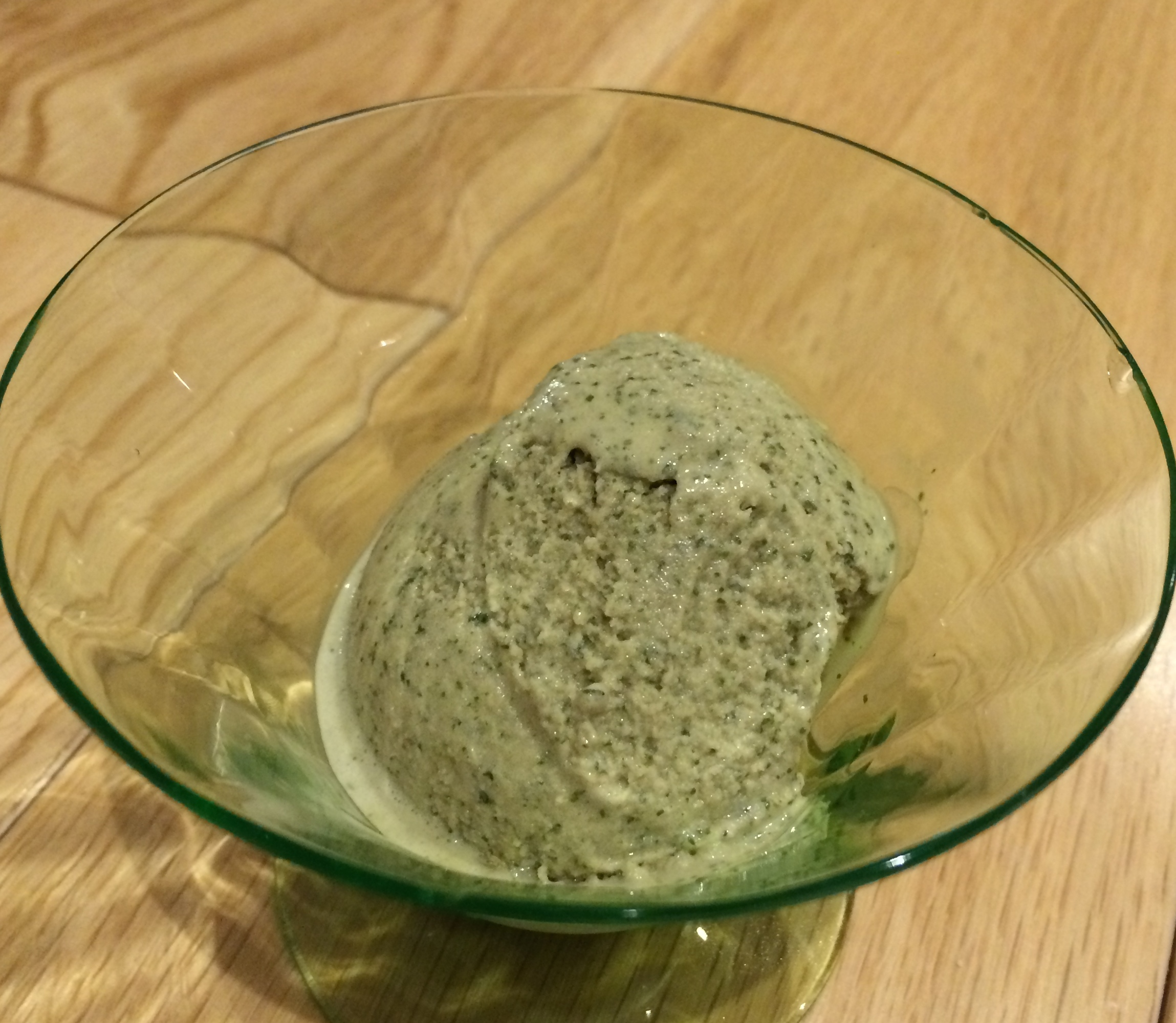 Mint ice cream vegan